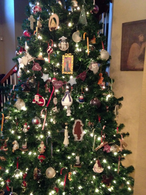 Christmas tree, Advent, Jesse Tree, Karen May, Amayzing Graces