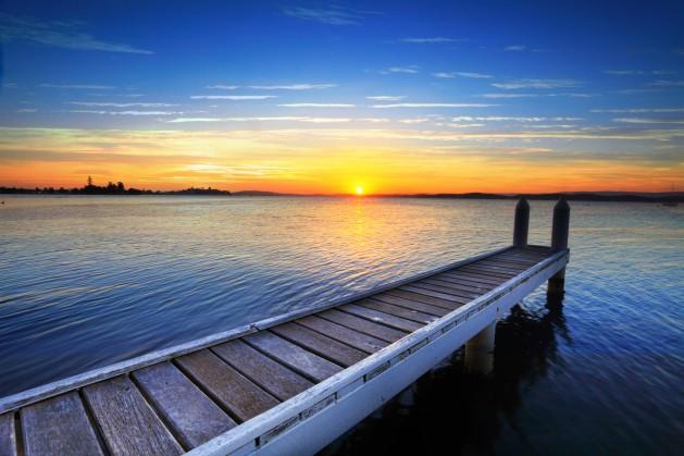 new beginnings, sunrise, future, morning, grace, ocean, water, dock, new day, promise, hope