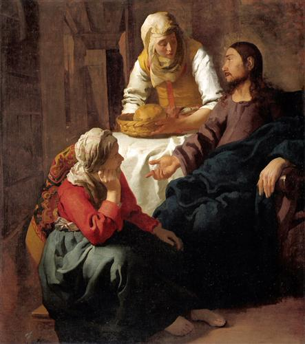 Martha and Mary, Jesus, waiting, listening, serving, jealous, angry, the better part, sitting at Jesus feet