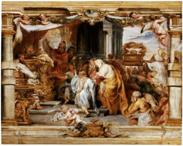 The Sacrifice of the Old Covenant (Rubens)
