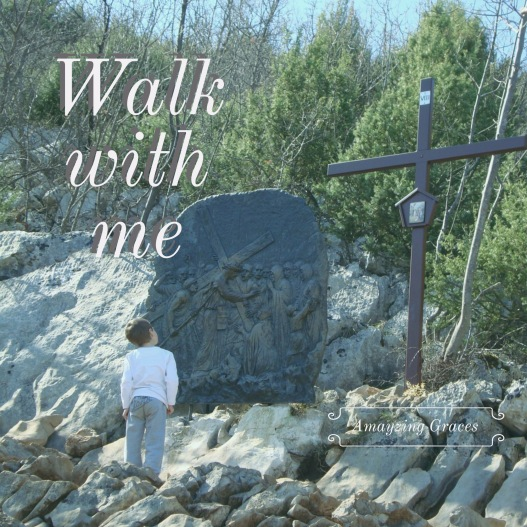 Walk with me, Stations of the Cross, Amayzing Graces, Karen May