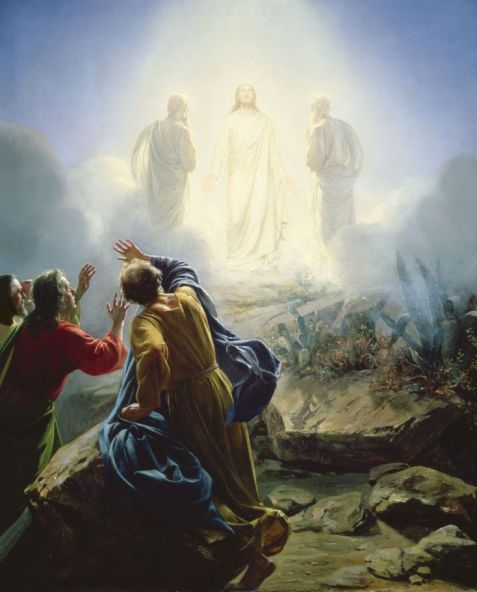 transfiguration of Jesus, give me a sign, Amayzing Graces, Karen May