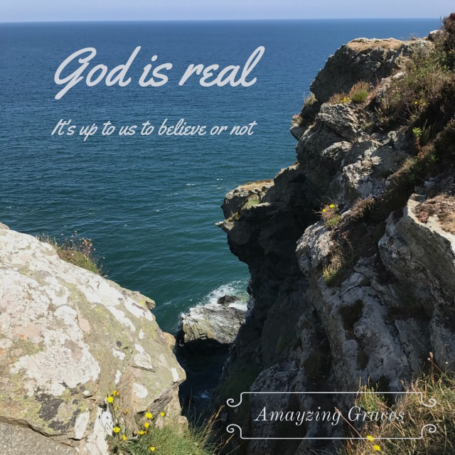 God is Real, Howth, Ireland, Amayzing Graces, Karen May
