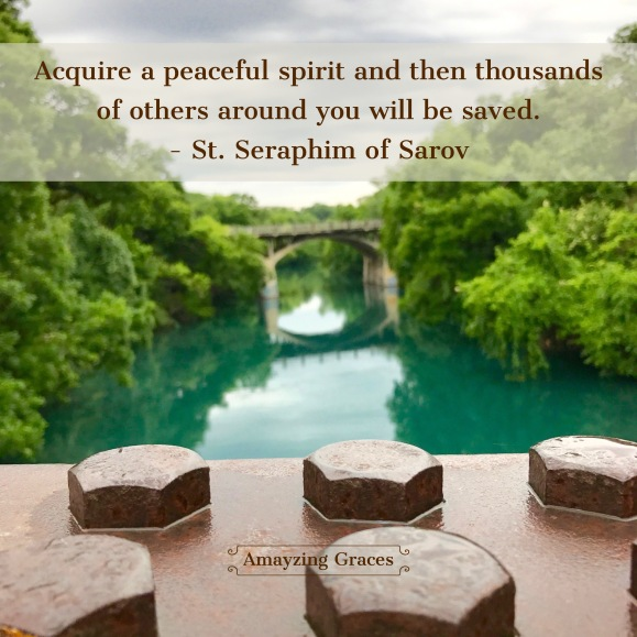 Find a peaceful spirit, peace, Amayzing Graces, Karen May