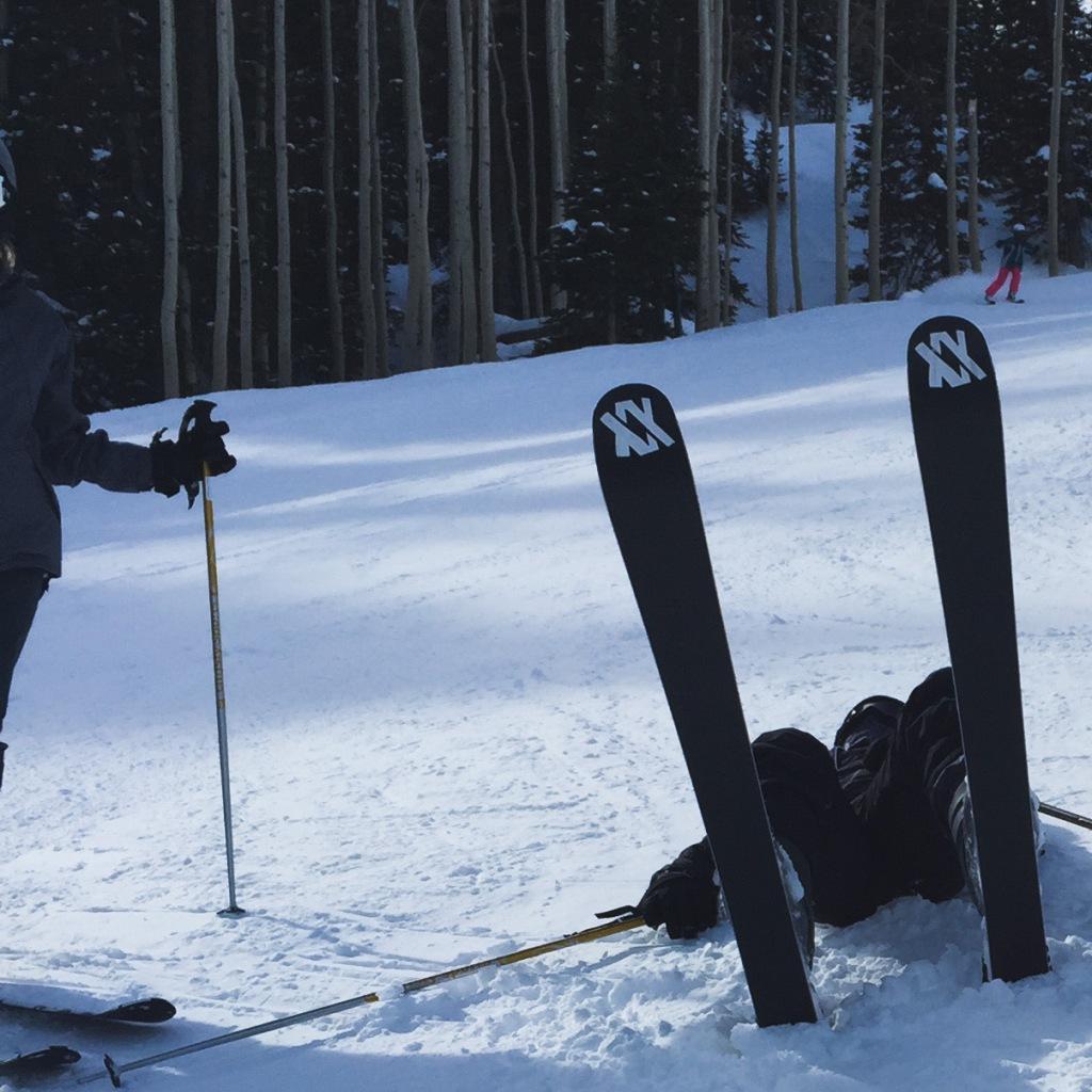 How do you ski? Karen May, Amayzing Graces