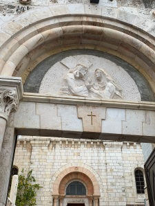 Jerusalem, Stations of the Cross, Jesus meets his mother, Karen May, Amayzing Graces