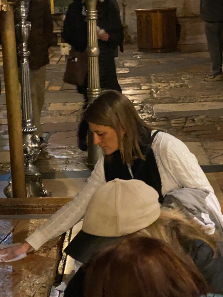 At the Church of the Holy Sepulchre, Karen May, Amayzing Graces